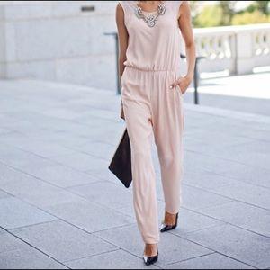 Small Zara Blush Jumpsuit